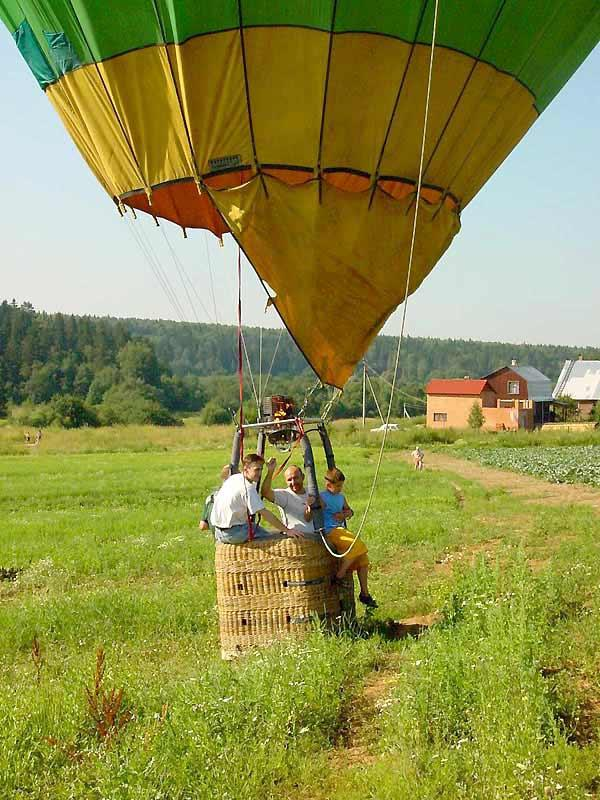Ballooning Over Russia